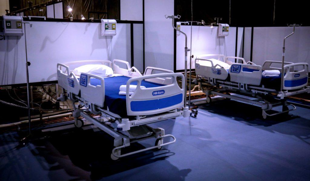 Camas de recuperación para pacientes de coronavirus