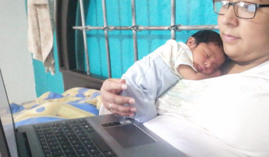 Combinar el trabajo remunerado con la maternidad en cuarentena