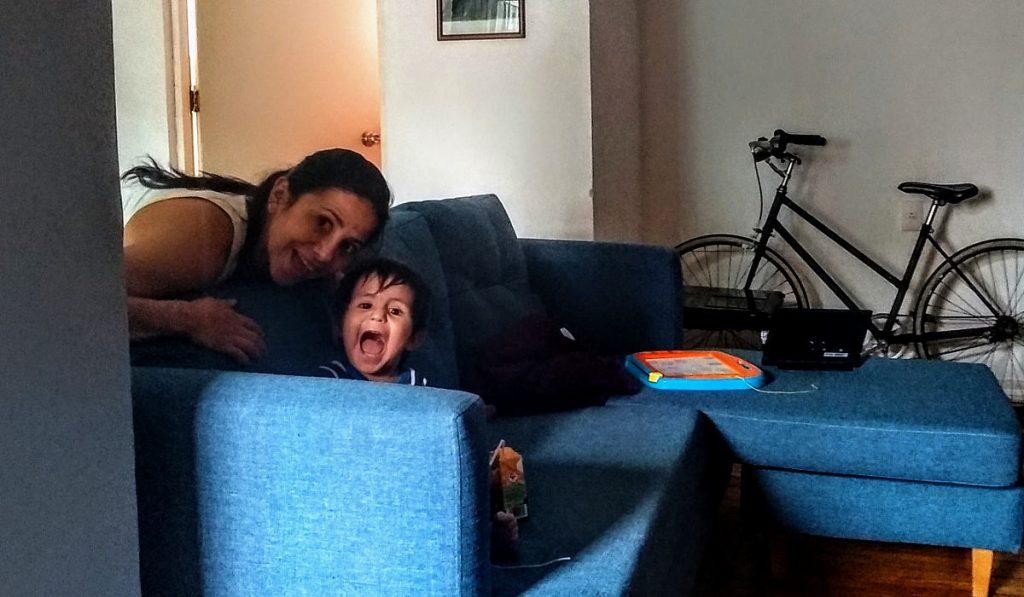 Maternidad en cuarentena