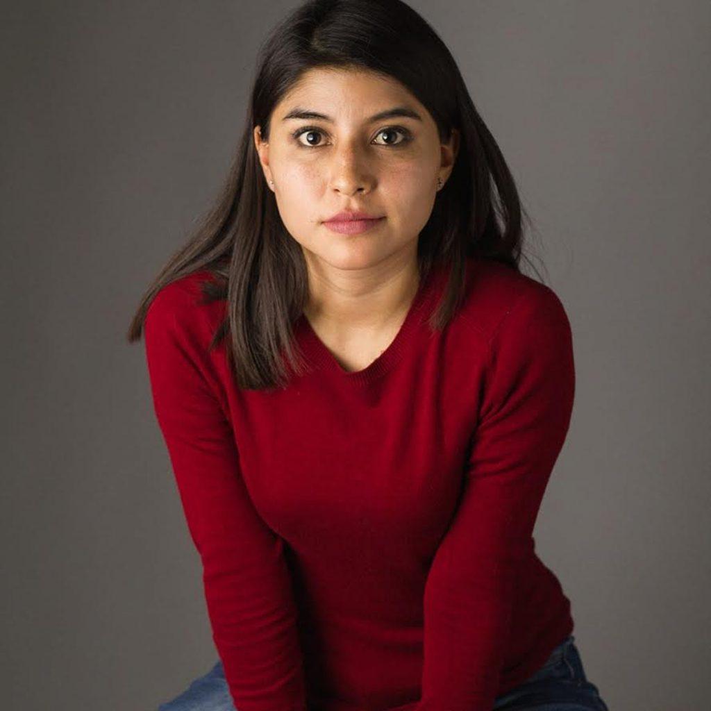 Belén Chávez, actriz de teatro mexicano
