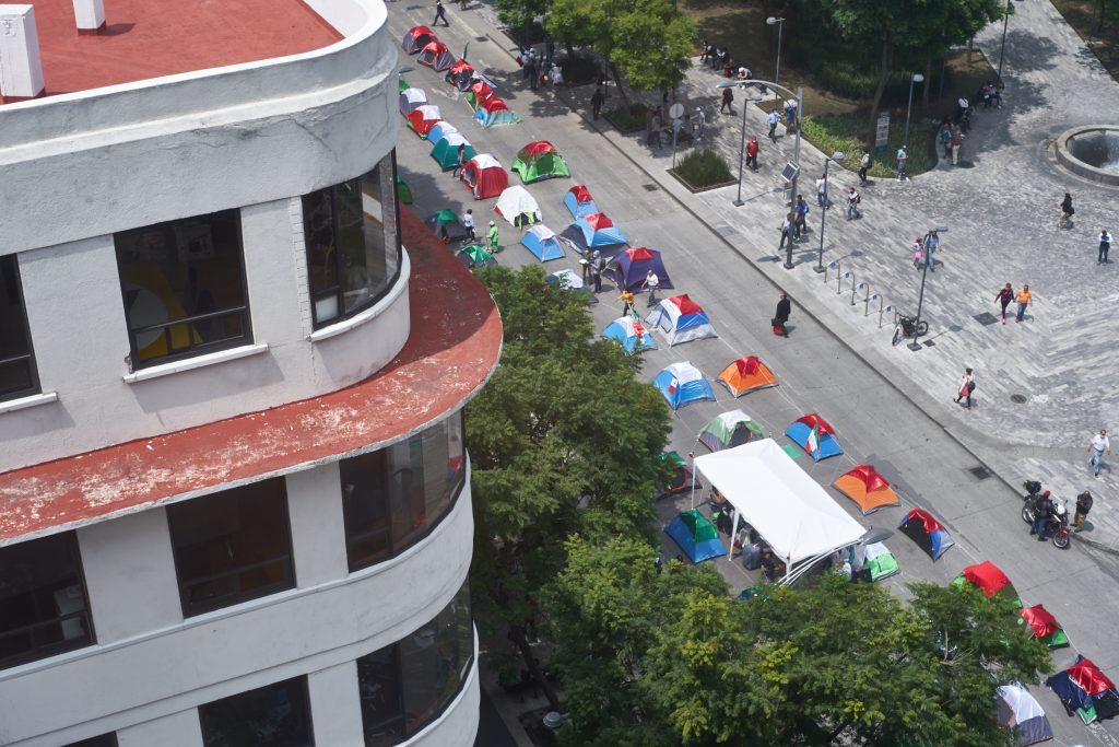 Frenaaa: una manifestación sin gente