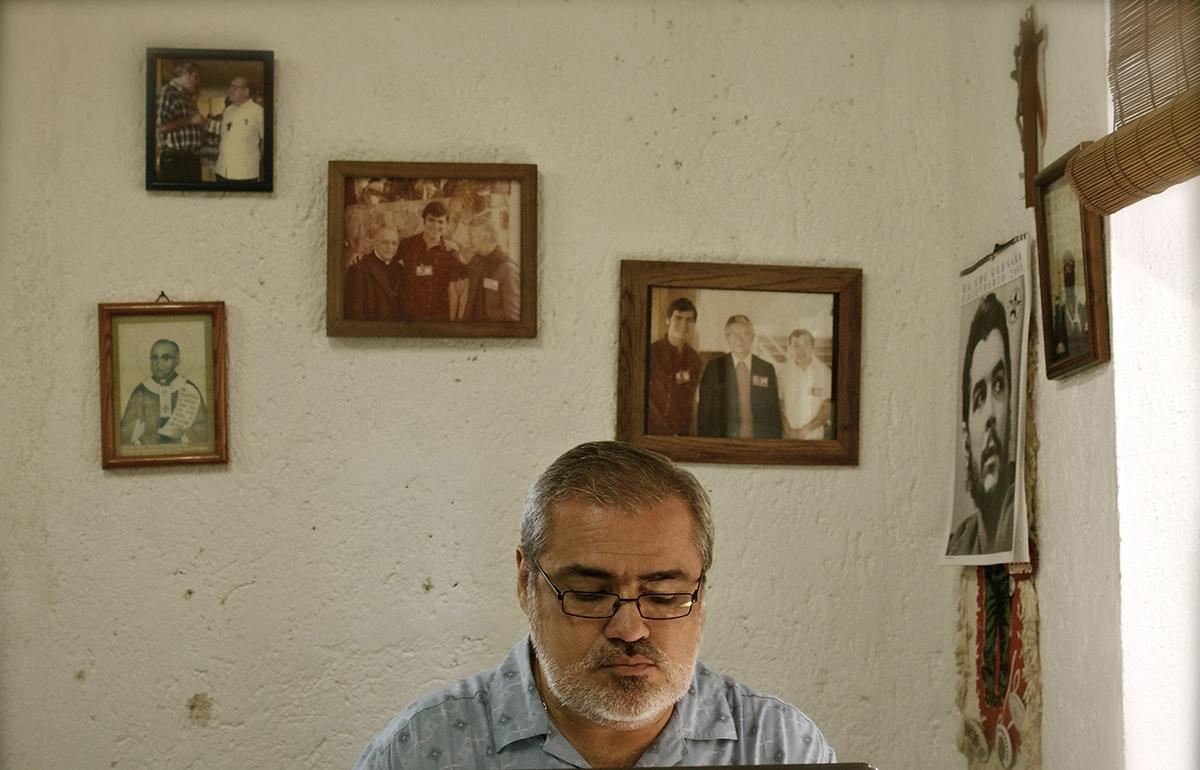 Retrato de Raúl Lugo