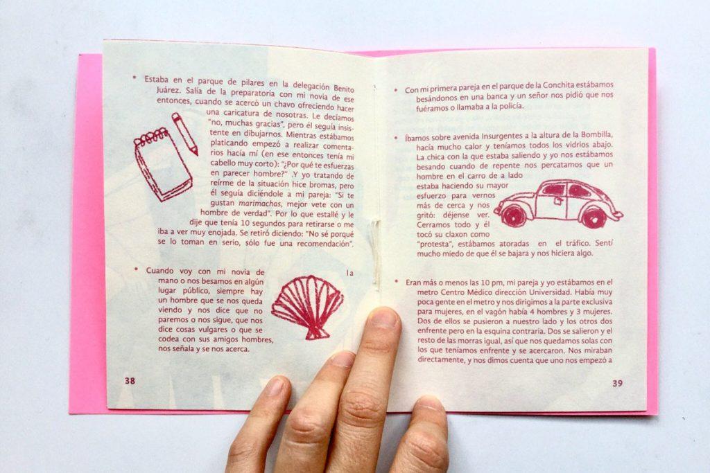 Interior de la Guía Rosi