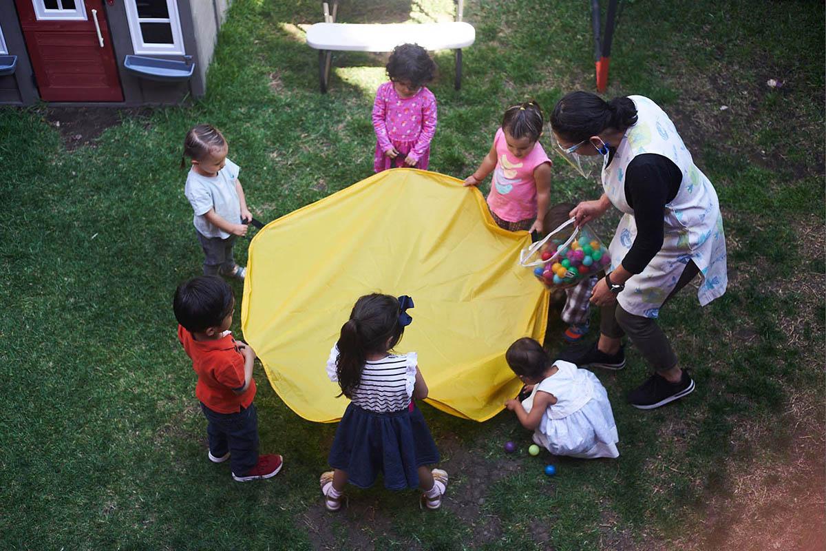 Escuela burbuja niños