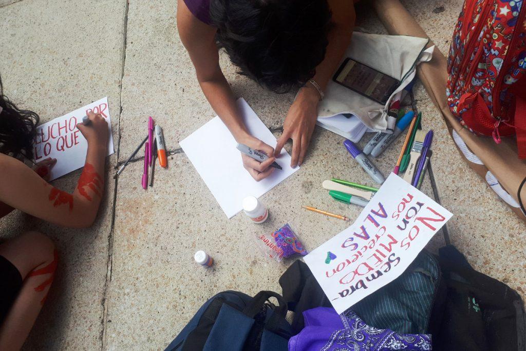 Pancartas para marcha feminista