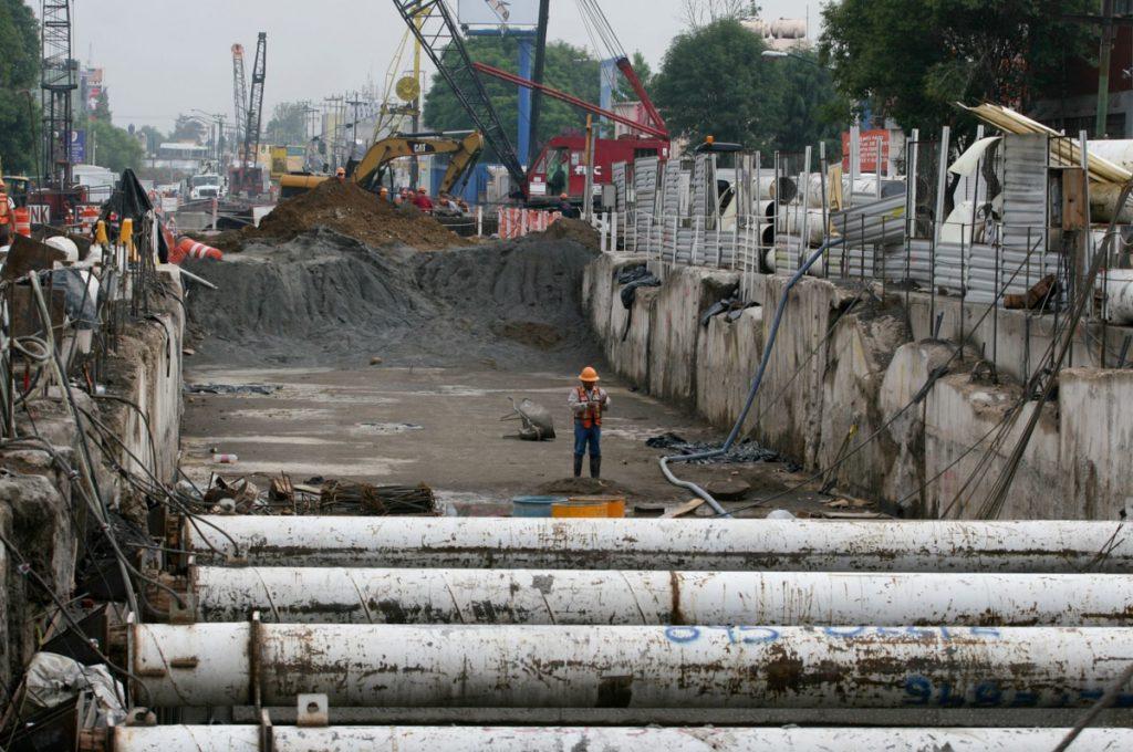 Proceso de construcción de la Línea 12