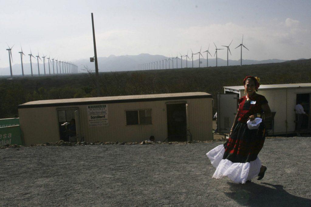 Oaxaca y los parques eólicos