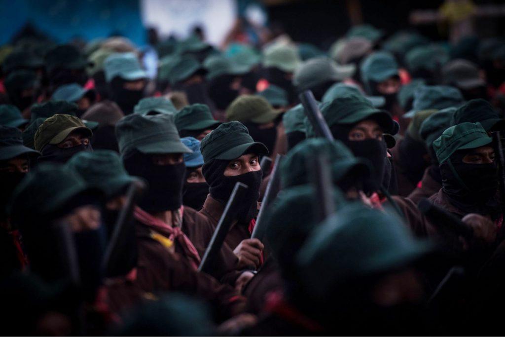 Los zapatistas llaman a participar en la Consulta Popular 2021.