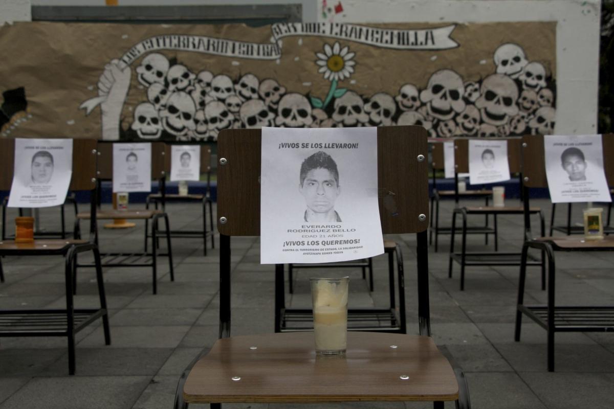 séptimo aniversario del caso Ayotzinapa, normalistas desaparecidos