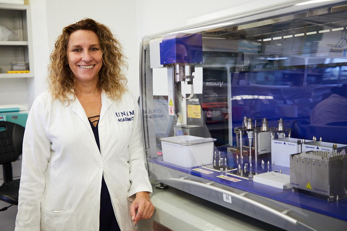 Creadora del biosensor para detectar covid-19